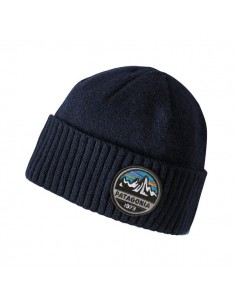45e604cb21b Patagonia Brodeo Beanie Fitz Roy Scope Navy Blue